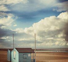 The Blue Beach Hut 2 by Nicola Smith
