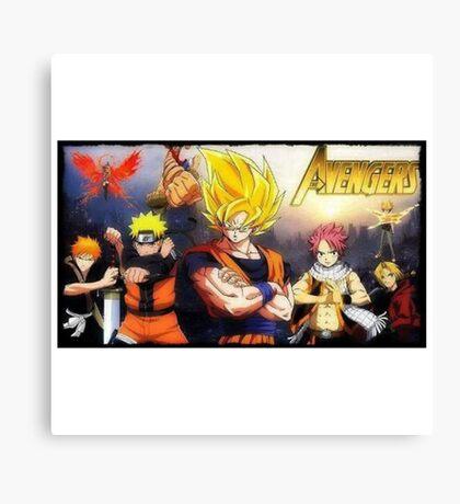 MangAvengers Canvas Print