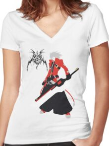 Ragna the Bloodedge Women's Fitted V-Neck T-Shirt