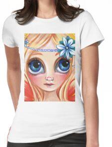Cute Daisy Dreamer Fairy Womens Fitted T-Shirt