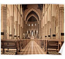 St. Patricks Cathedral, Melbourne Poster