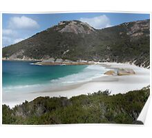 Little Bay, Two Peoples Bay Nature Reserve, WA Poster