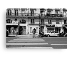 Crossing St Germaine - Paris, France Canvas Print