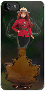 █ ♥ █ GENIE ~MAPLE LEAF ~ROYAL CANADIAN MOUNTED POLICE IPHONE CASE █ ♥ █  by ╰⊰✿ℒᵒᶹᵉ Bonita✿⊱╮ Lalonde✿⊱╮