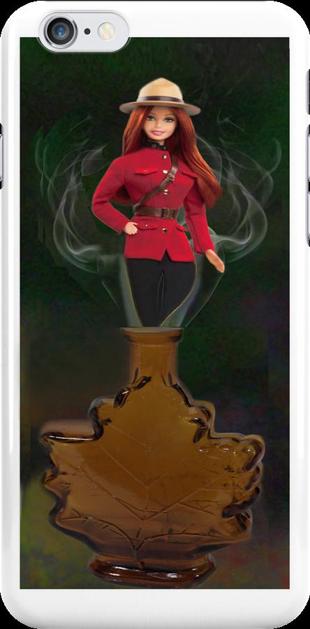 █ ♥ █ GENIE ~MAPLE LEAF ~ROYAL CANADIAN MOUNTED POLICE IPHONE CASE █ ♥ █  by ✿✿ Bonita ✿✿ ђєℓℓσ