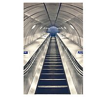 Escalator Photographic Print