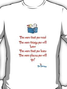 The more you read T-Shirt