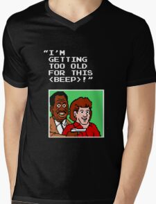 Lethal Punch-Out!!! Mens V-Neck T-Shirt