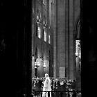 Spiritual transition - Notre Dame - Paris, France by Norman Repacholi