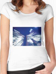 Skyscraper Women's Fitted Scoop T-Shirt