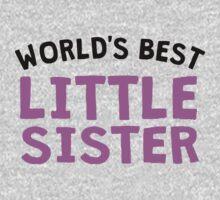 World's Best Little Sister One Piece - Long Sleeve