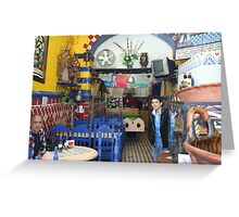 CAFE IN MEXICO Greeting Card