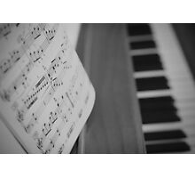 Sheet Music Photographic Print