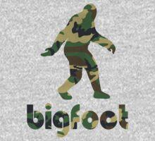 Bigfoot Woodland Camo by chainsawgoblin