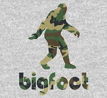 Bigfoot Woodland Camo Unisex T-Shirt