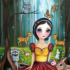 Snow White in the Enchanted Forest by Jaz Higgins