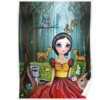 Snow White in the Enchanted Forest Poster