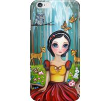 Snow White in the Enchanted Forest iPhone Case/Skin