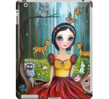 Snow White in the Enchanted Forest iPad Case/Skin