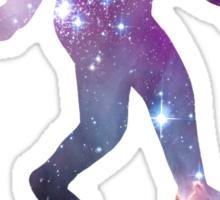 Bigfoot Stars Sticker