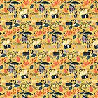 Autumn Pattern by Claire Stamper
