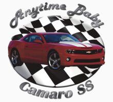Chevy Camaro SS Anytime Baby by hotcarshirts
