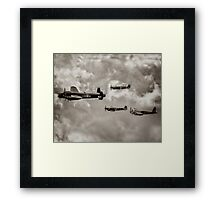 Merlin Formation Framed Print
