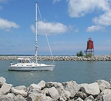 Racine Harbor by Jack Ryan