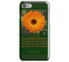 When A Serious Musing I Behold Verse Greeting iPhone Case/Skin