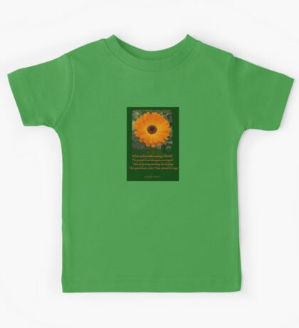 When A Serious Musing I Behold Verse Greeting Kids Tee