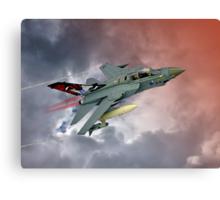 Storming !! Tornado GR4 617 Squadron Canvas Print