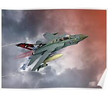 Storming !! Tornado GR4 617 Squadron Poster