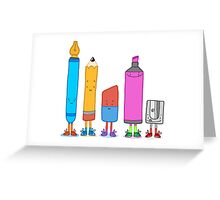 Cute Stationary Greeting Card