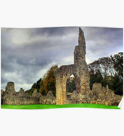 Thetford Priory  Poster