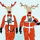 Reindeer Five by SixPixeldesign