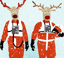 Reindeer Five by SixPixeldesign