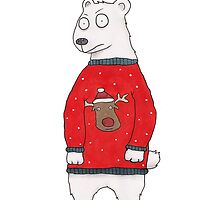 Christmas Bear by Ollie Bright