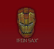 IRON SAX [RED] by Vidka Art