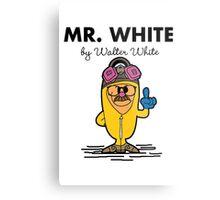 Mr White Metal Print