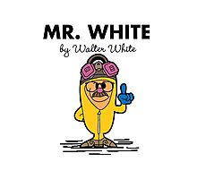 Mr White Photographic Print