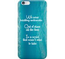 Breathing Underwater iPhone Case/Skin