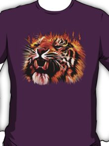 Fire Power Tiger T-Shirt