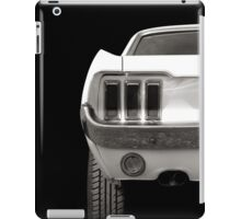 Speed (black&white) iPad Case/Skin
