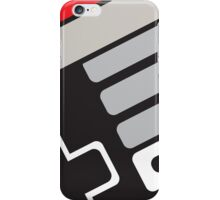 NES controller sketch iPhone Case/Skin