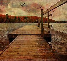 Expressive Lake by PineSinger
