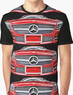 RED MERCEDES BENZ AMG Graphic T-Shirt