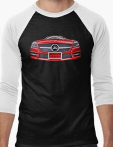 RED MERCEDES BENZ AMG Men's Baseball ¾ T-Shirt