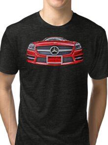 RED MERCEDES BENZ AMG Tri-blend T-Shirt