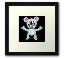 Fertility Koala Framed Print