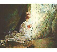 Annunciation Photographic Print